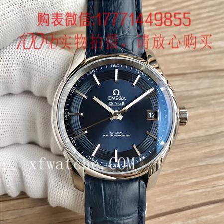 3S厂,欧米茄蝶飞系列431.33.41.21.03.001 蓝面 男士透底自动机械手表