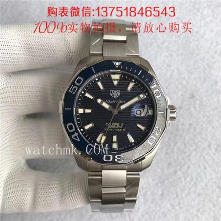 MK厂,泰格豪雅TAG HEUER竞潜系列WAY211C.BA0928(蓝面)